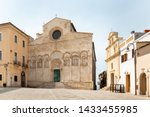 termoli cathedral dedicated to... | Shutterstock . vector #1433455985
