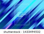 line diagonal pattern. trendy... | Shutterstock .eps vector #1433494532