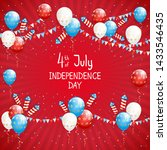 independence day theme.... | Shutterstock . vector #1433546435