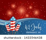 independence day theme.... | Shutterstock . vector #1433546438