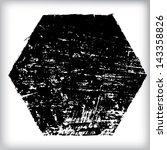grunge shapes   Shutterstock .eps vector #143358826