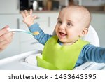 Smiling 8 Month Old Baby Boy At ...