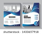 brochure design  cover modern... | Shutterstock .eps vector #1433657918
