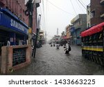 Small photo of Heavy Rain in different areas of kanpur toady