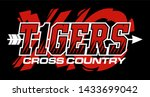 tigers cross country team... | Shutterstock .eps vector #1433699042