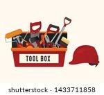 set of construction building...   Shutterstock .eps vector #1433711858