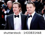 cannes  france   may 21  brad... | Shutterstock . vector #1433831468