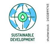 sustainable development color...