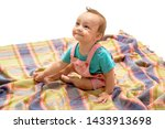 a child is a beam of sunlight.... | Shutterstock . vector #1433913698