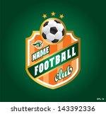 symbol football. football club  ... | Shutterstock .eps vector #143392336