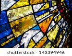 Multicolored Stained Glass...