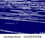 art stylized blue texture... | Shutterstock . vector #1433959598