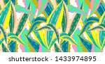 vector seamless pattern with...   Shutterstock .eps vector #1433974895