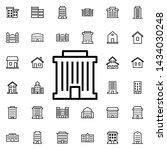 bank building icon. universal...   Shutterstock .eps vector #1434030248