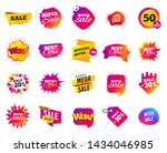 sale banner. special offer... | Shutterstock .eps vector #1434046985