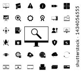 computer search icon. universal ... | Shutterstock . vector #1434056555