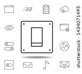 off on switch outline icon....