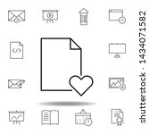 document paper favorite outline ...