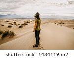 Man Standing In Death Valley...
