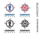 Compass Logo  Land Surveyor Logo