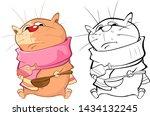 vector illustration of a cute...   Shutterstock .eps vector #1434132245