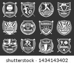 Baseball Sport Game Shield...