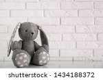 Stuffed Bunny Toy For Baby Room ...