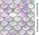 Seamless Pattern Of Fish Scales ...