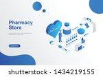 online pharmacy store concept...   Shutterstock .eps vector #1434219155