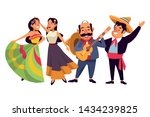 mexican traditional culture... | Shutterstock .eps vector #1434239825