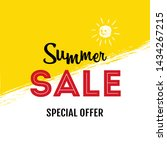 summer sale special offer... | Shutterstock .eps vector #1434267215