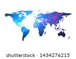worldwide stock market or forex ... | Shutterstock .eps vector #1434276215