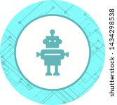 robot icon in trendy style... | Shutterstock .eps vector #1434298538
