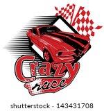 crazy race   Shutterstock .eps vector #143431708