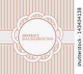 vintage background in a unique... | Shutterstock . vector #143434138