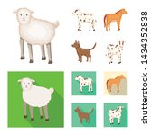 vector design of breeding and... | Shutterstock .eps vector #1434352838