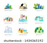 real estate logo  building... | Shutterstock .eps vector #1434365192