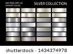 silver chrome metal texture... | Shutterstock .eps vector #1434374978