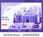 online banking landing page...