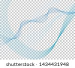 abstract water background with... | Shutterstock .eps vector #1434431948