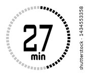 the 27 minutes countdown timer...