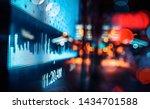 financial stock exchange market ... | Shutterstock . vector #1434701588