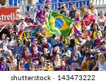 ������, ������: Unidentified supporters during Brazilian