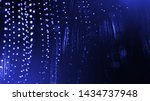 glow particles are in air as... | Shutterstock . vector #1434737948