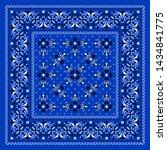 vector ornament paisley bandana ... | Shutterstock .eps vector #1434841775