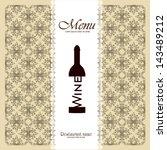 restaurant menu   Shutterstock .eps vector #143489212