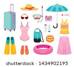 clothes and necessities for... | Shutterstock .eps vector #1434902195