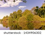 The River Ouse In York.  The...