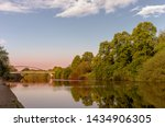 The River Ouse In York.  A...