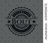 bout black emblem. vintage.... | Shutterstock .eps vector #1434920672